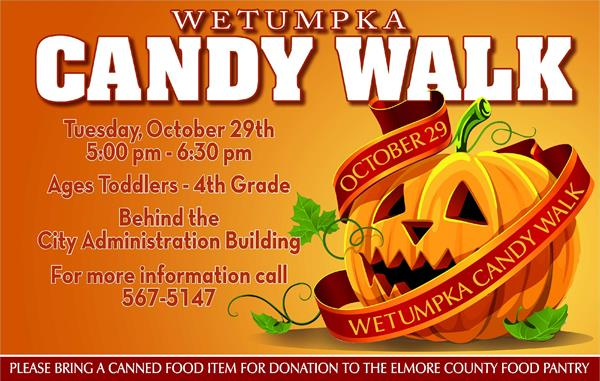 City Of Wetumpka Candy Walk